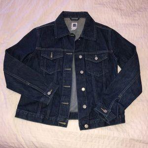 Jackets & Blazers - Gap Dark Denim Jacket - Small